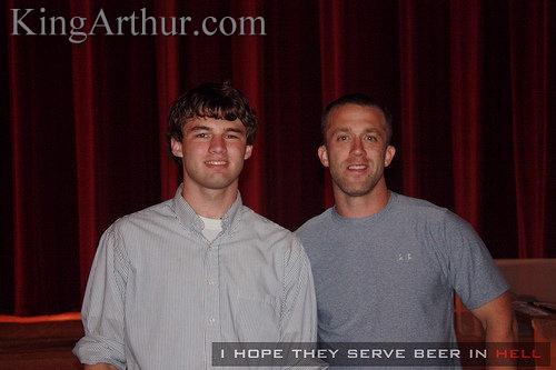 Mudman with Tucker Max at Virginia Tech